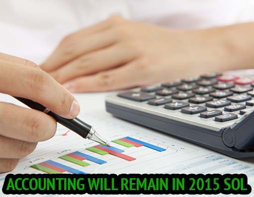 Accounting will remain in 2015 SOL
