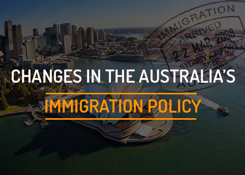 Changes in the Australia's immigration policy