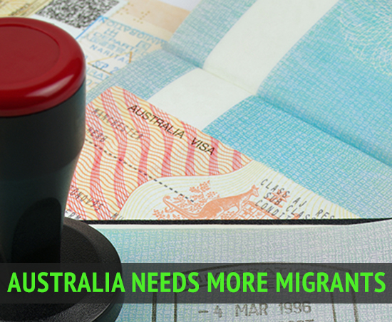 Australia needs to attract more migrants to boost the economy to sustain future growth, the Migration Council of Australia says.