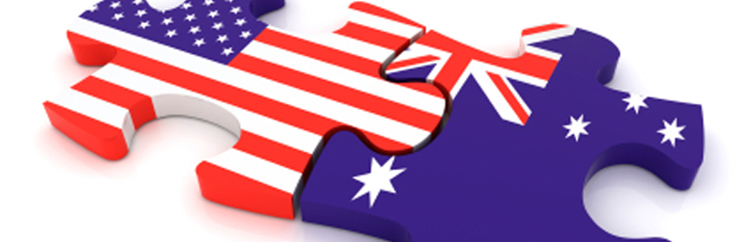 australia usa share information