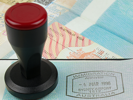 Labels for Australian visas will cease to be issued from the beginning of next month in a move designed to streamline visa processing and encourage digital service use.