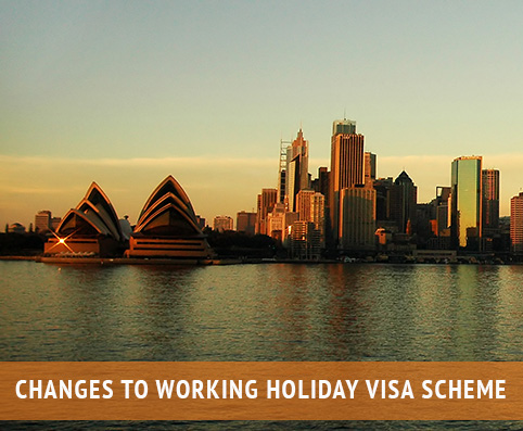 changes to working holiday visa
