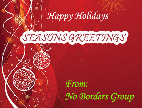 Christmas Greetings from No Borders
