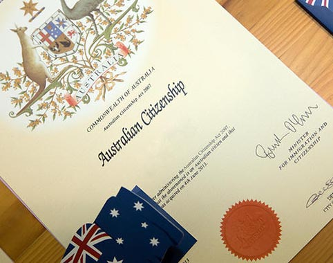 Proposed changes to Australian Citizenship Law