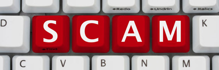 warning over email scam