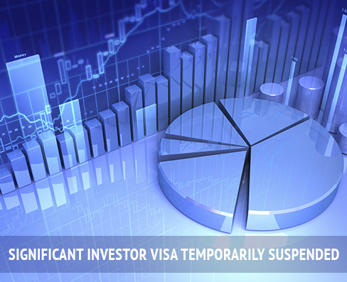 SIV temporarily suspended