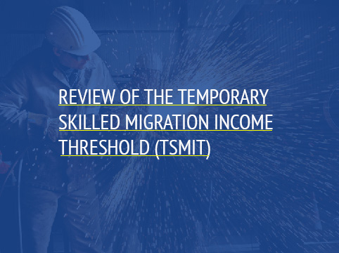 Temporary skilled migration income treshold